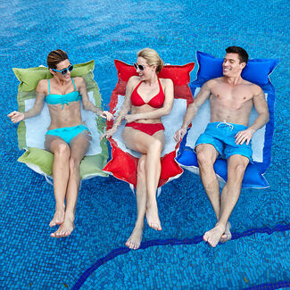 Floating Luxuries Kai Water Hammock Swimming Pool Float